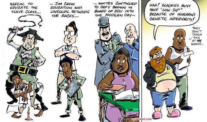 Pretending That the Intended Resu... - M. Rasheed Cartoons