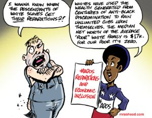 The Insatiable White Appetite for...