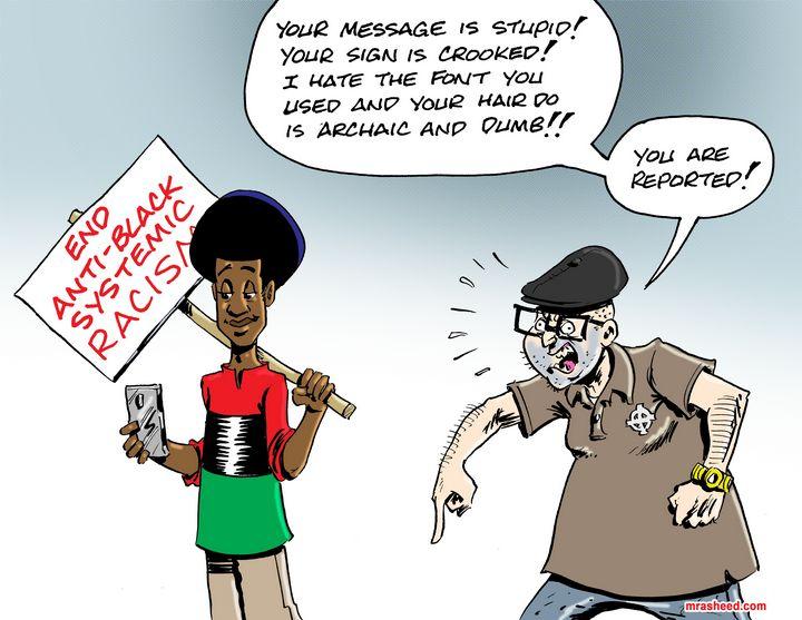 The Triggering - M. Rasheed Cartoons