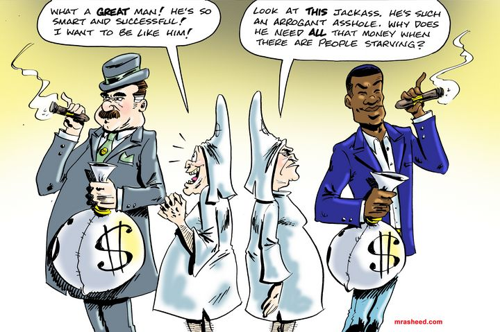 You Might be a Racist If... - M. Rasheed Cartoons