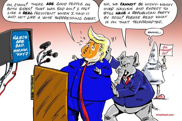 Damage Control - M. Rasheed Cartoons
