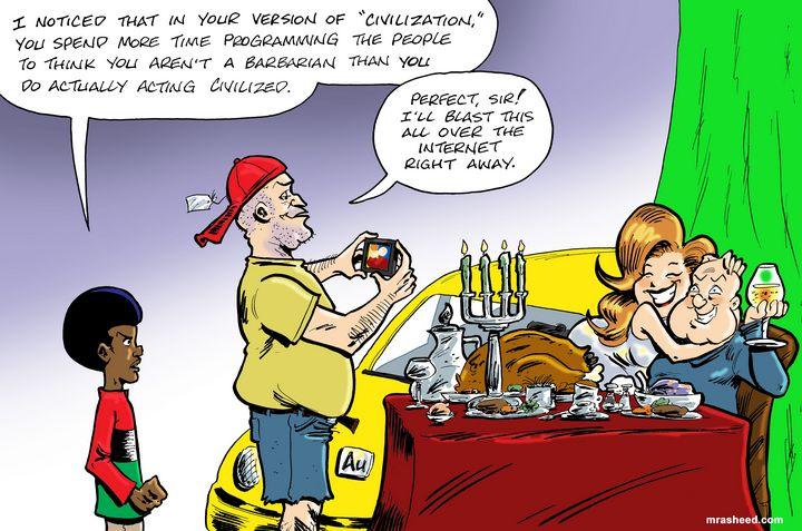 Perpetrating Fraud - Expert Level - M. Rasheed Cartoons