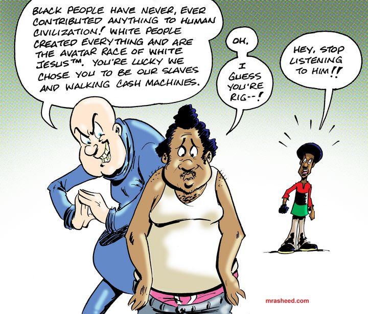 Taking Your Enemy as Teacher and Fri - M. Rasheed Cartoons