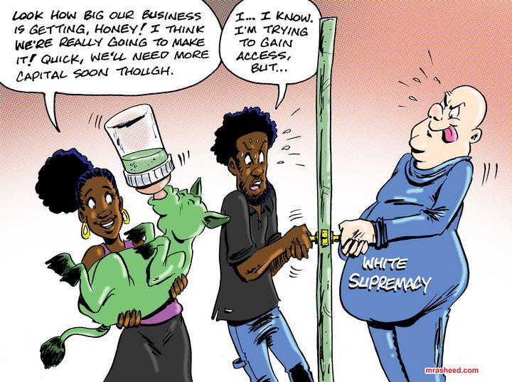 Access Denied - M. Rasheed Cartoons