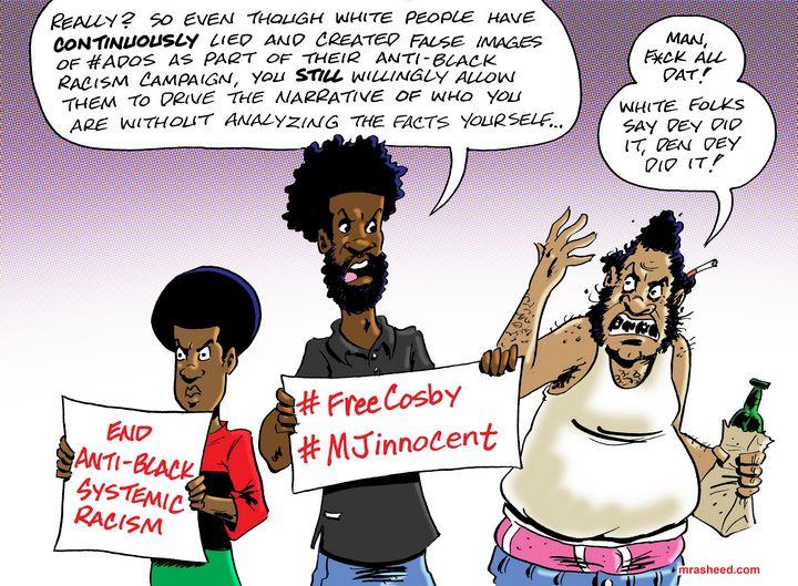 The Power of Mental Enslavement - M. Rasheed Cartoons