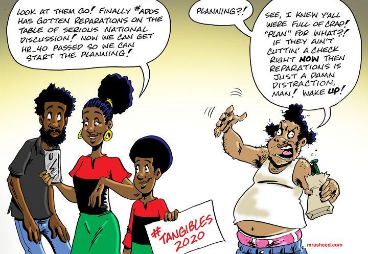 Background Noise of the Fool - M. Rasheed Cartoons