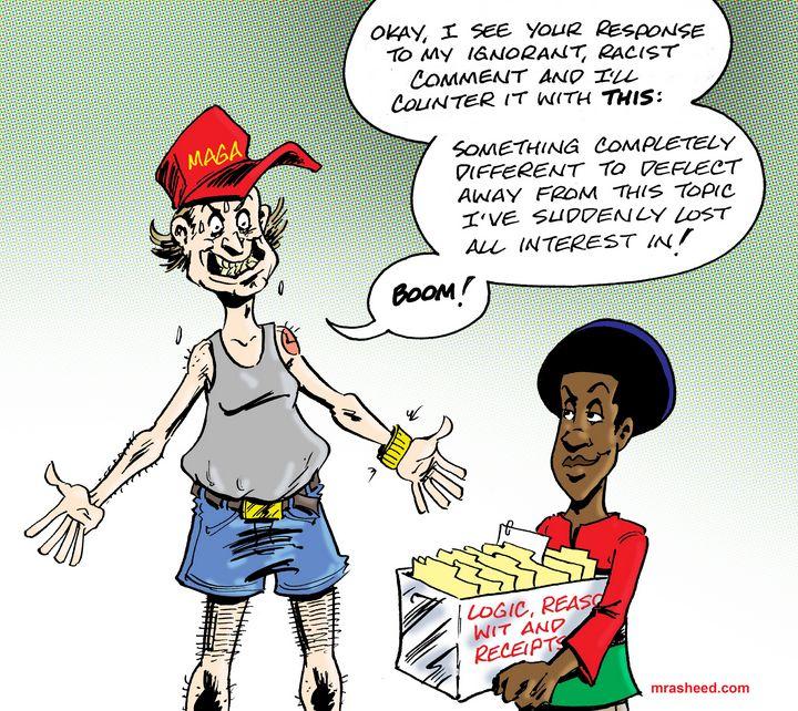 Tu Quoque Du Jour - M. Rasheed Cartoons