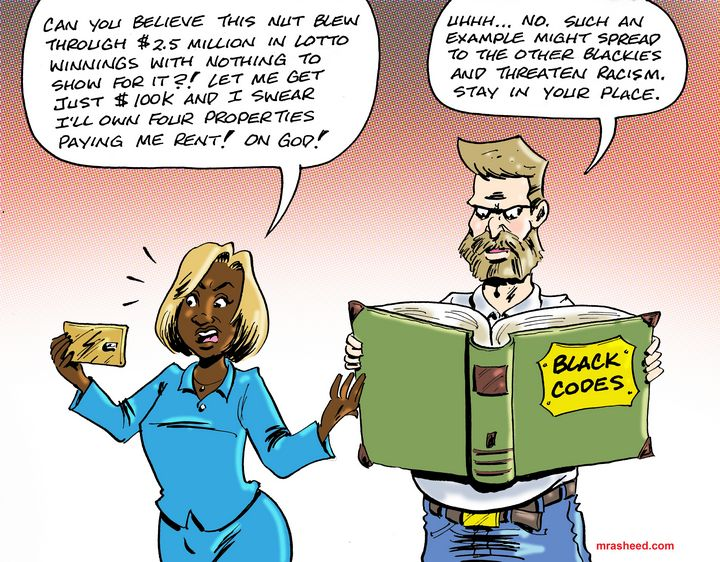 Silly, Blackie/Freedom is for Wypipo - M. Rasheed Cartoons