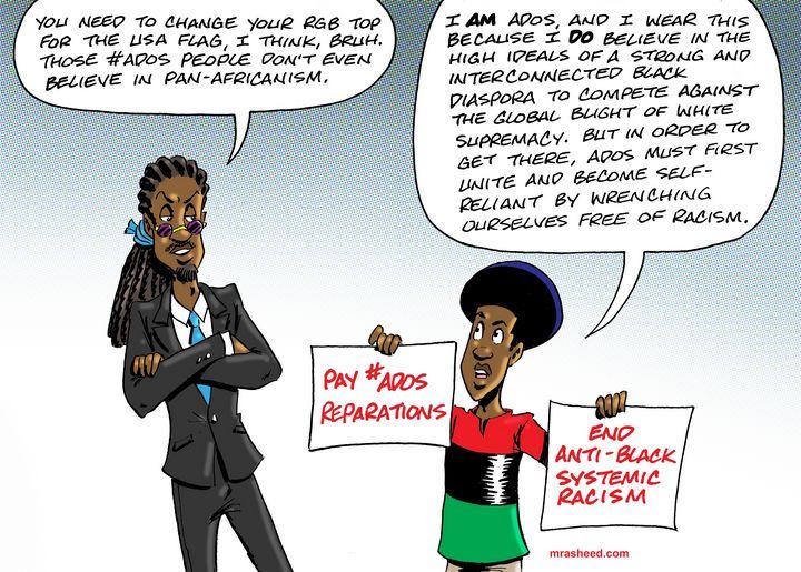 Rise of #ADOS - M. Rasheed Cartoons
