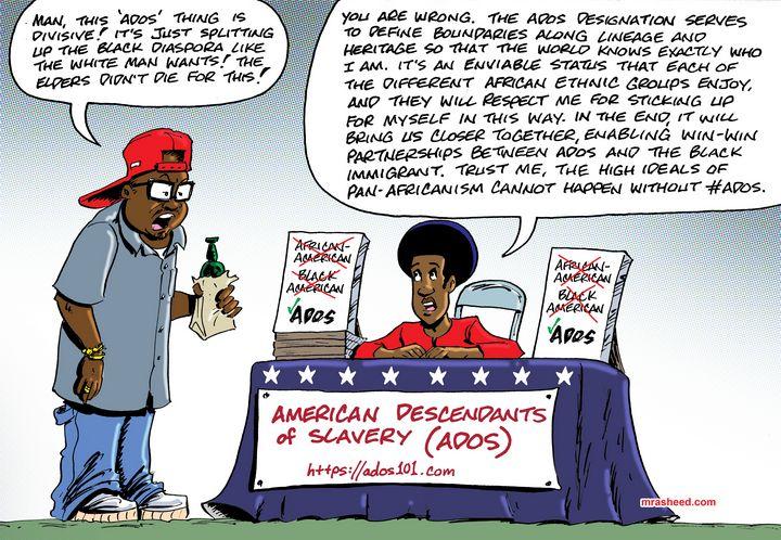 Recognizing a Nation - M. Rasheed Cartoons