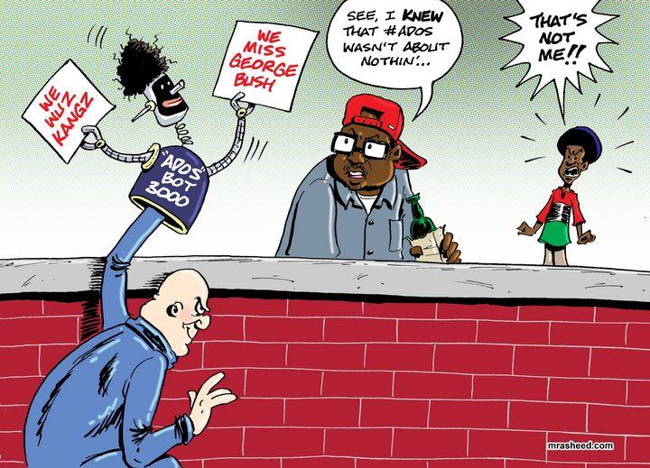 The Racist's Upgraded Playbook - M. Rasheed Cartoons