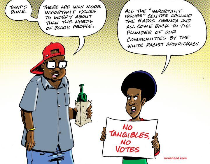 ADOS Lives Matter - M. Rasheed Cartoons