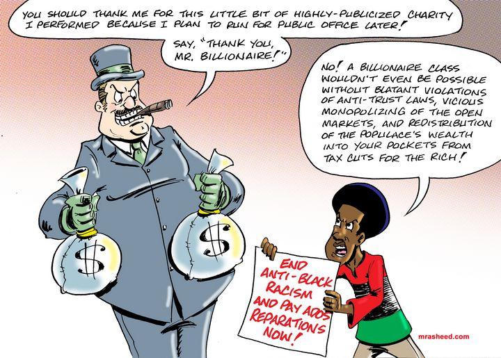 Enemy of the People - M. Rasheed Cartoons