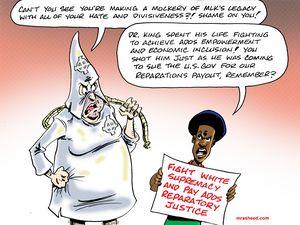 The Racist's MLK Spin Job
