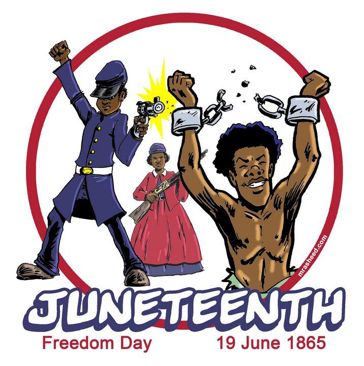 Celebrate Juneteenth 2019 - M. Rasheed Cartoons