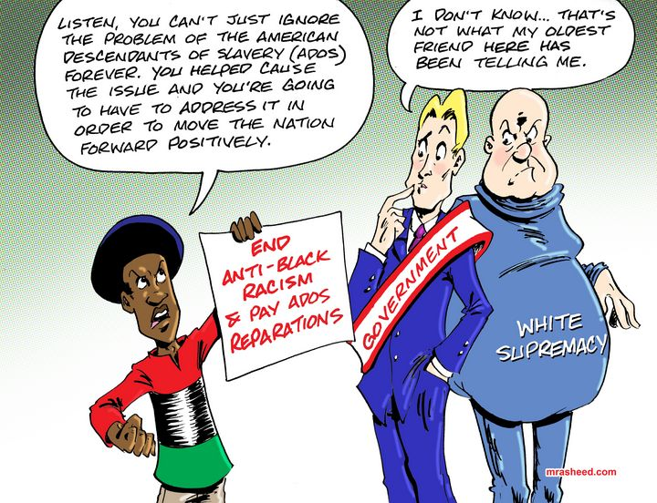 Lies of My Confidant - M. Rasheed Cartoons