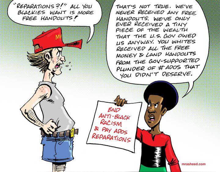 A Class of Entitled Thieves - M. Rasheed Cartoons
