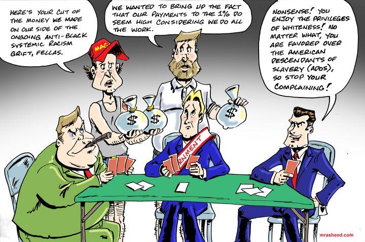 Better than Money - M. Rasheed Cartoons
