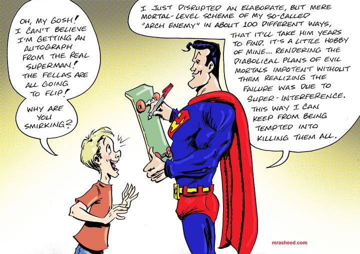 Super-Countering the Grifter Class - M. Rasheed Cartoons