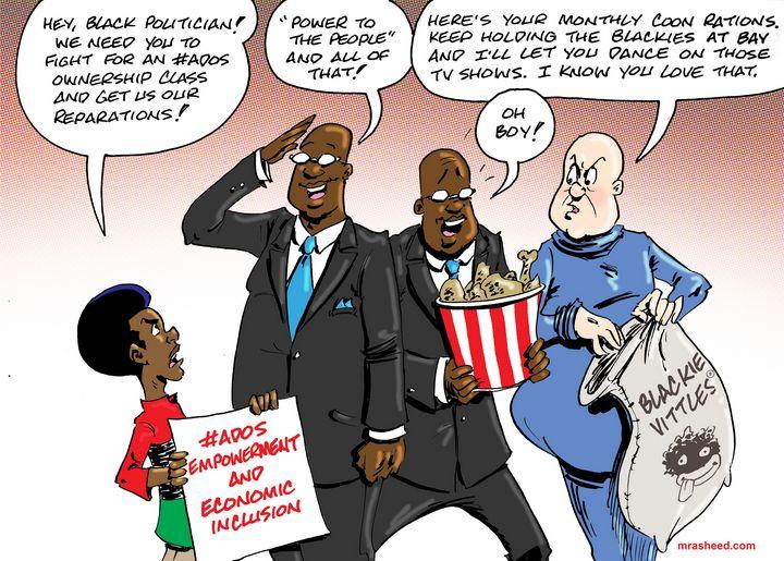 The Compromised Representative - M. Rasheed Cartoons