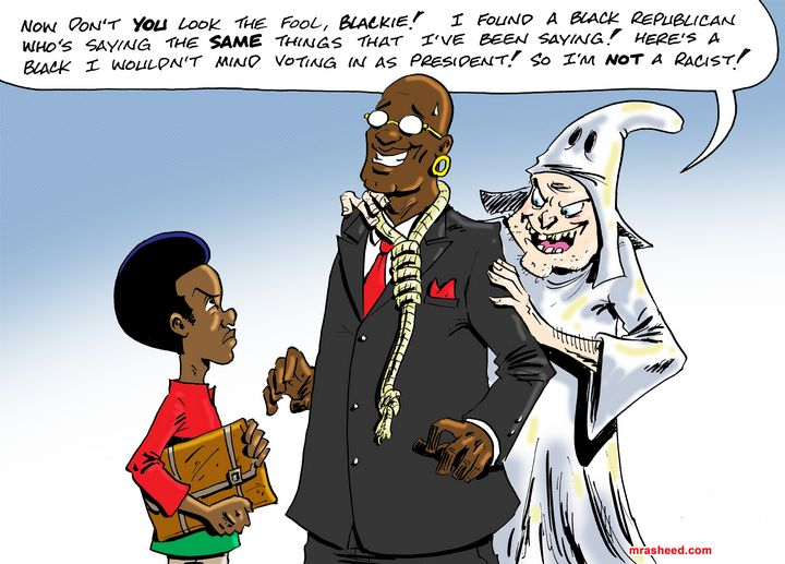 Weaponized Relationship, pt 2 of 2 - M. Rasheed Cartoons