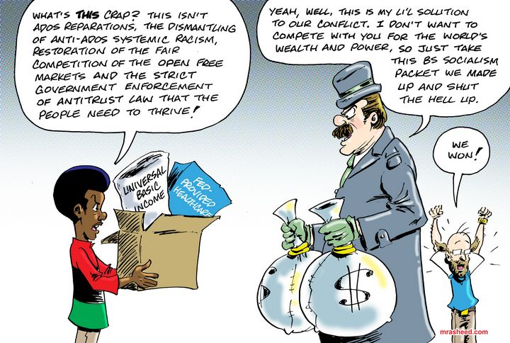 Placating the Former Competition II - M. Rasheed Cartoons