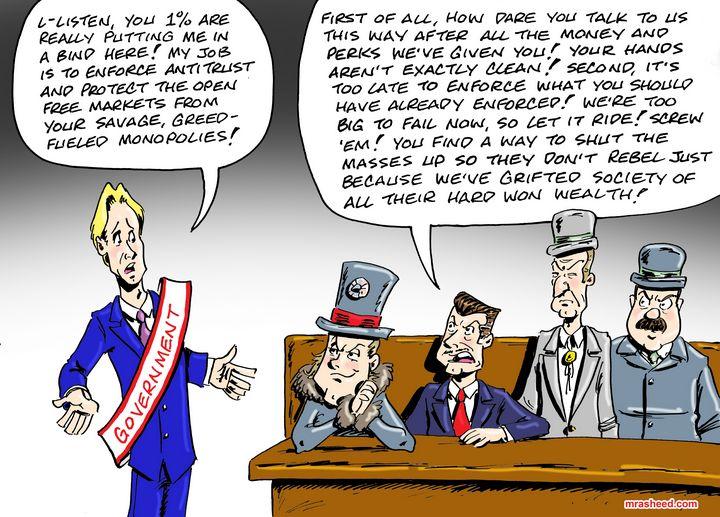 The Birth of Socialism - M. Rasheed Cartoons