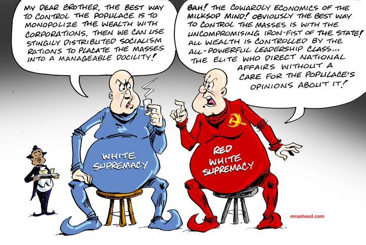Crony Corporatism vs Communism - M. Rasheed Cartoons
