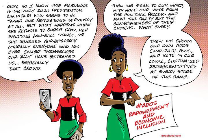 The Follow Through - M. Rasheed Cartoons