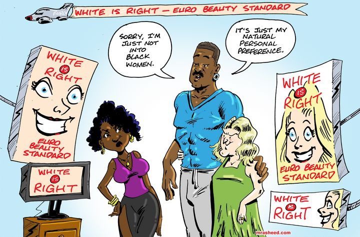 Self-Hate Pretending to Be Love 02 - M. Rasheed Cartoons