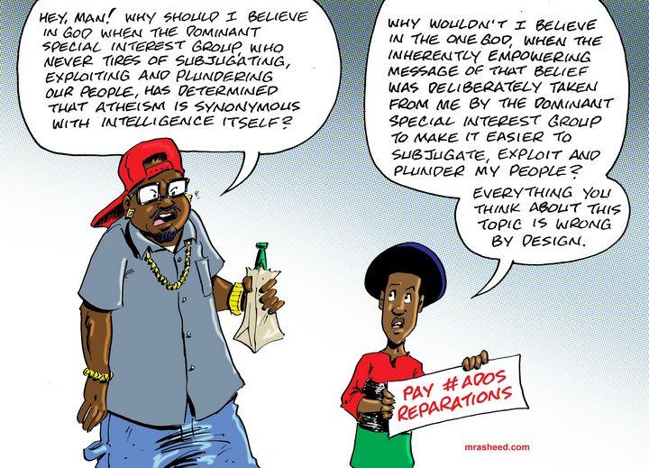 Still Believing Massa - M. Rasheed Cartoons