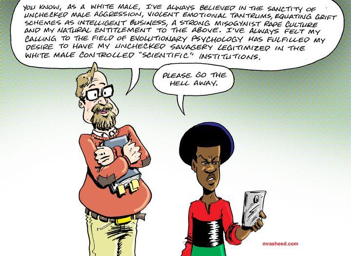 Perks of the Whitopia Playground - M. Rasheed Cartoons