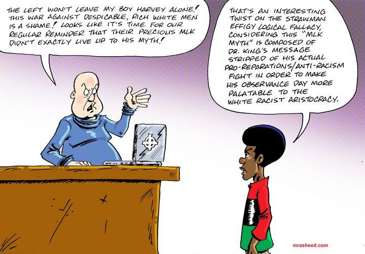 Expert-Level Strawman Argument - M. Rasheed Cartoons
