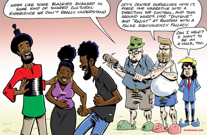 Battle Tactics - M. Rasheed Cartoons