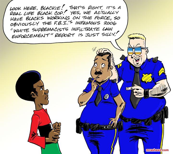 Anecdotal Fallacy: Coonery Edition - M. Rasheed Cartoons