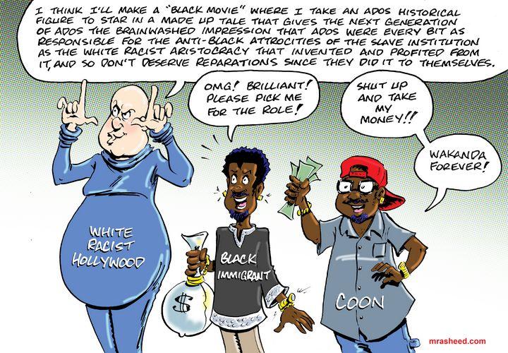 The Battle Against Racism, Inc. - M. Rasheed Cartoons