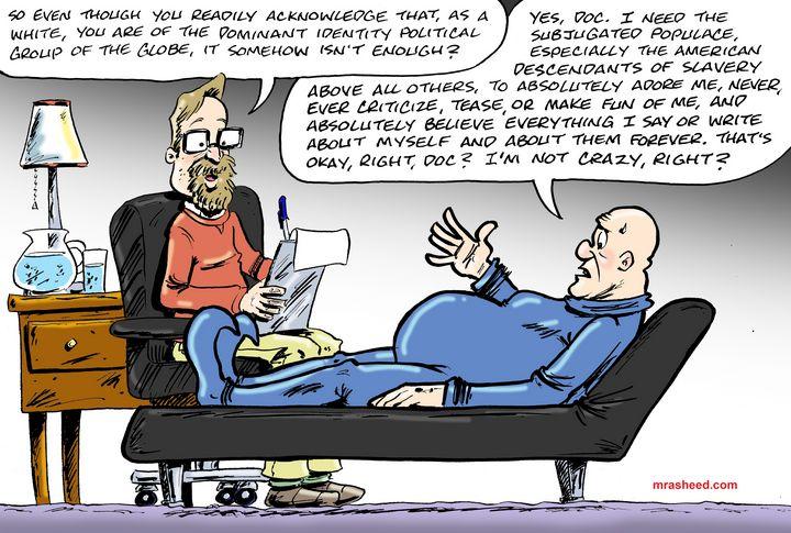 Fragility of the Colonizer - M. Rasheed Cartoons