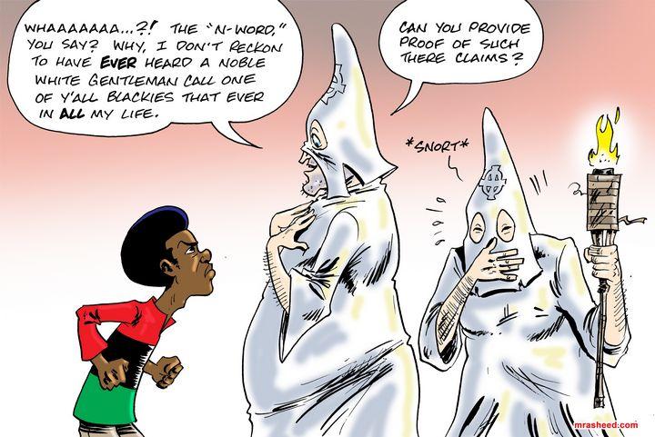 The Established Rules of Engagement - M. Rasheed Cartoons