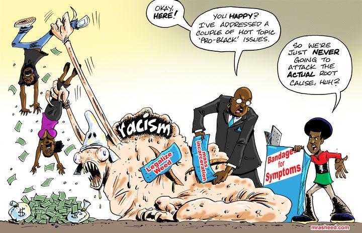 Stalling Progress (2 of 2) - M. Rasheed Cartoons