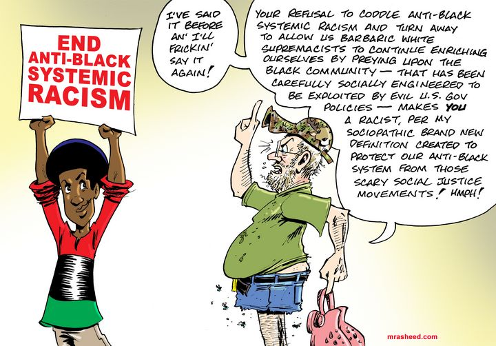 DECODED: The Unsolicited Racist Rant - M. Rasheed Cartoons