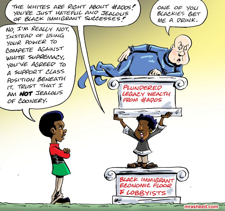 The Wannabe Friend of My Enemy... - M. Rasheed Cartoons