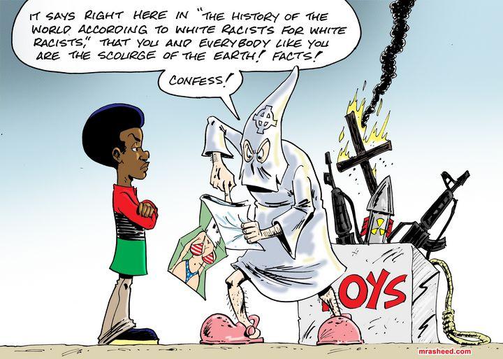 A Little Bit Partial - M. Rasheed Cartoons