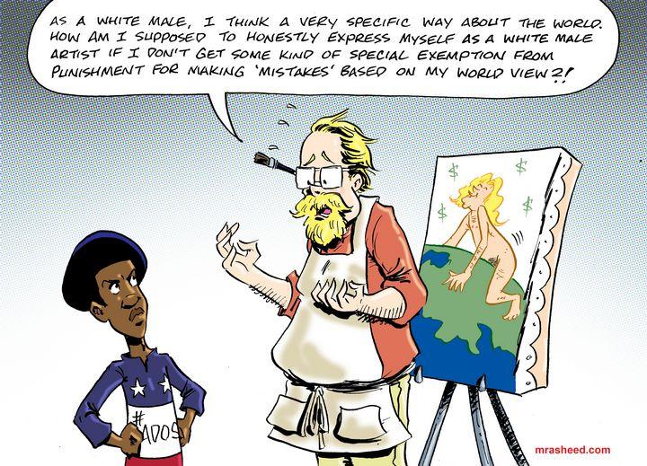 Honestly Expressing an Oppressive... - M. Rasheed Cartoons