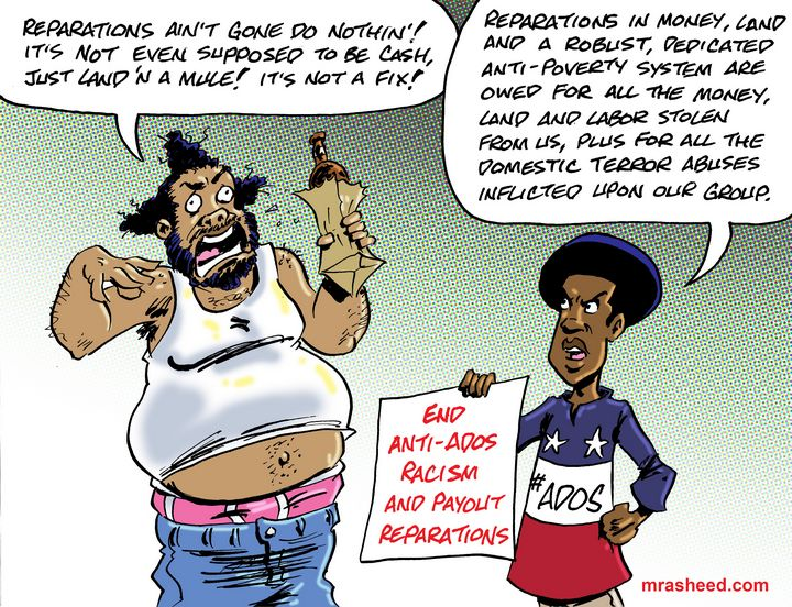 Self-Sabotage of a Tainted Identity - M. Rasheed Cartoons