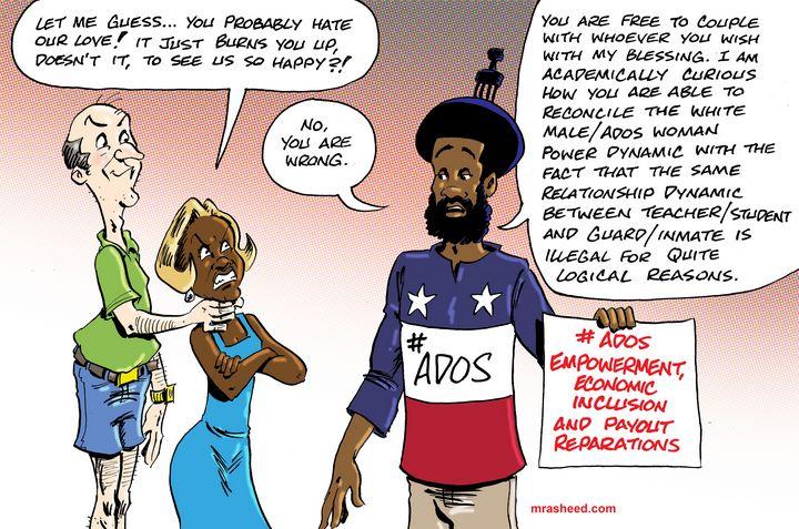 400 Years of First-Degree Sexual... - M. Rasheed Cartoons