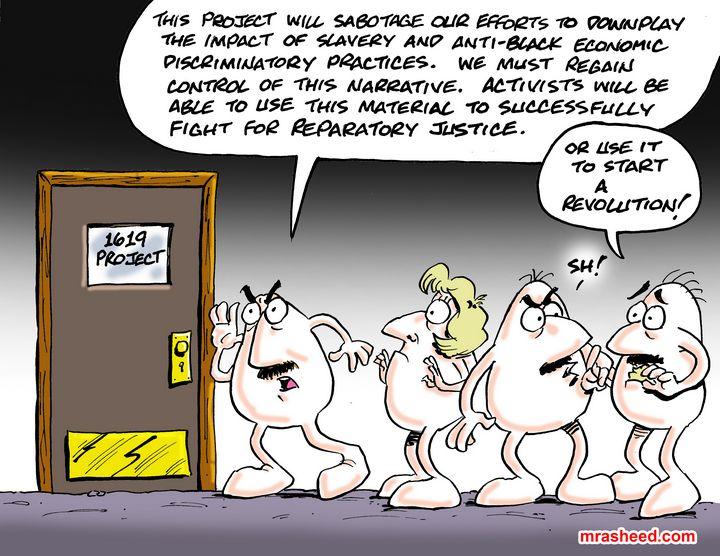 Threatening the Post-Racial Fantasy - M. Rasheed Cartoons