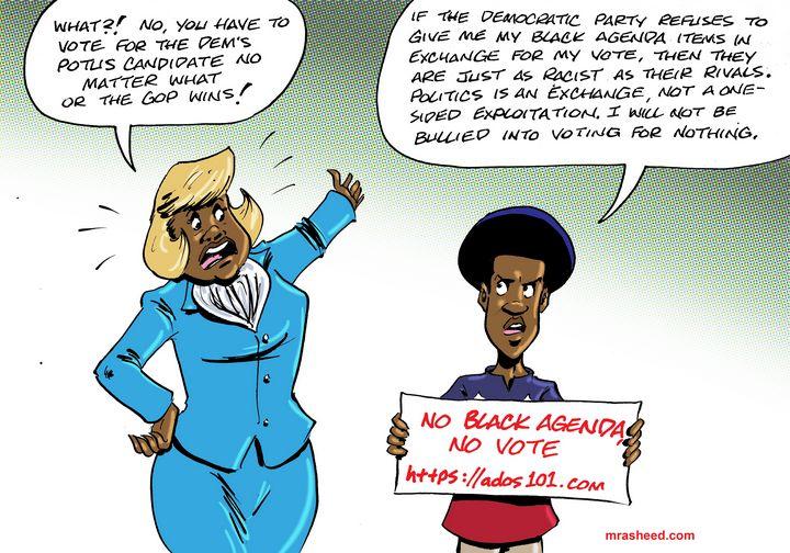Shamed into Returning to Impotent... - M. Rasheed Cartoons