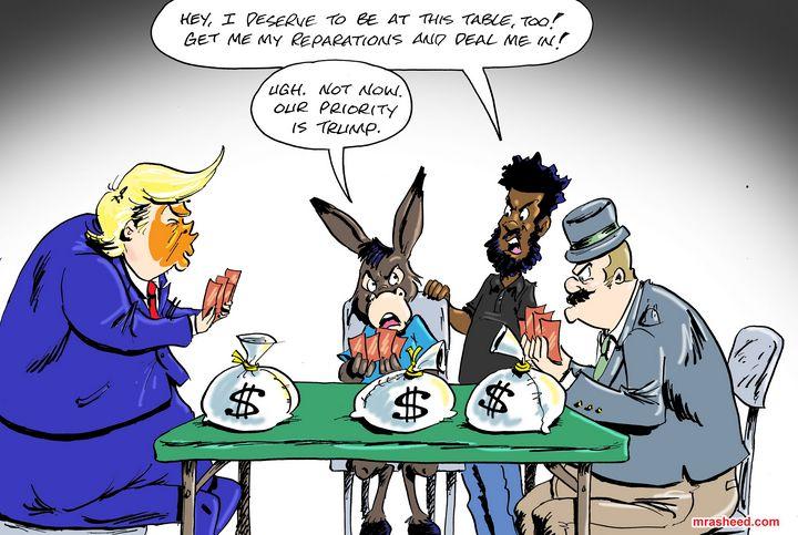 The Latest Stall Tactic - M. Rasheed Cartoons