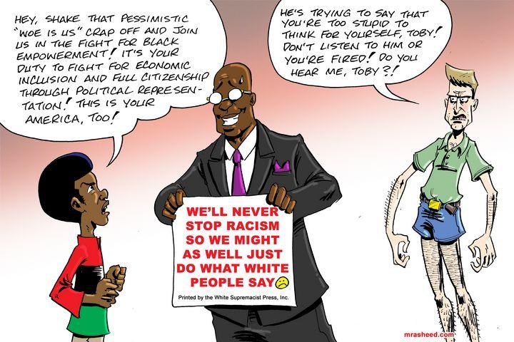 SitRep: Race War Status Update - M. Rasheed Cartoons