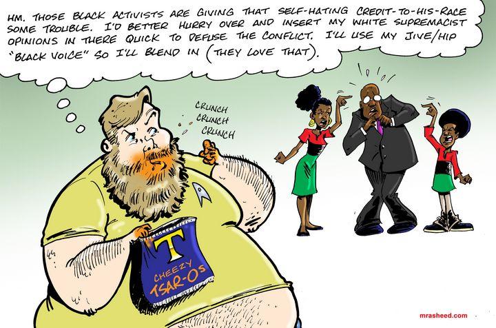 C'ing Your Way Into Intrusion - M. Rasheed Cartoons